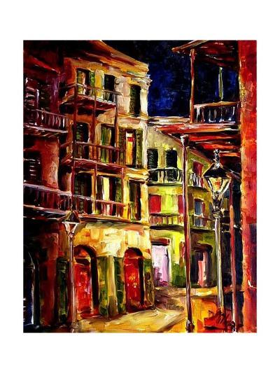 New Orleans Side Street-Diane Millsap-Art Print