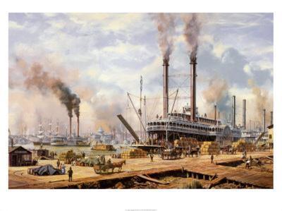 New Orleans-Roy Cross-Art Print