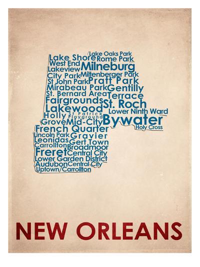 New Orleans--Art Print