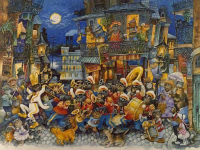New Orleans-Bill Bell-Giclee Print