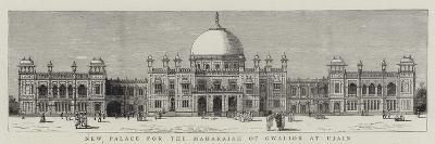 New Palace for the Maharajah of Gwalior at Ujain--Giclee Print