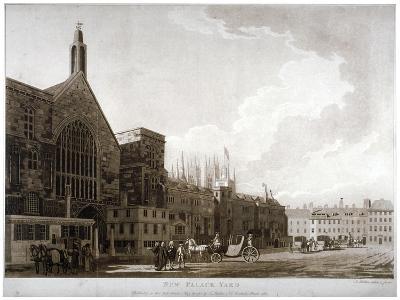 New Palace Yard and the Entrance to Westminster Hall, London, 1782-Thomas Malton II-Giclee Print