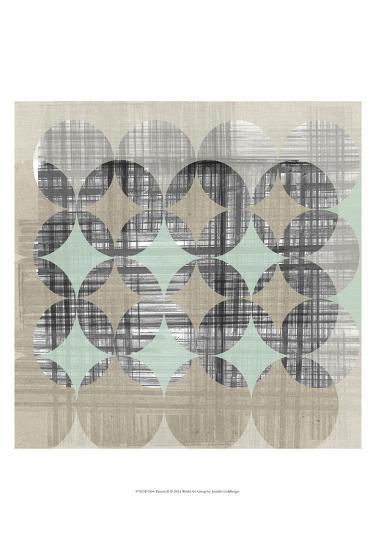 New Pattern II-Jennifer Goldberger-Art Print