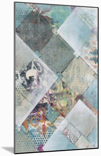 New Plaid II-Jennifer Goldberger-Mounted Premium Giclee Print