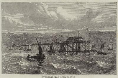 New Promenade Pier at Douglas, Isle of Man--Giclee Print