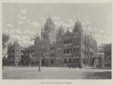 New Railway Offices at Bombay--Giclee Print