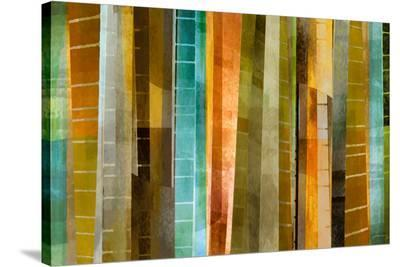 New Refractions II-James Burghardt-Stretched Canvas Print