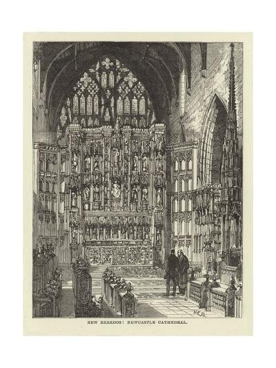 New Reredos, Newcastle Cathedral--Giclee Print