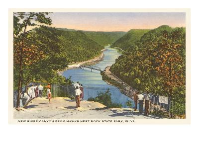 New River Canyon, West Virginia--Art Print