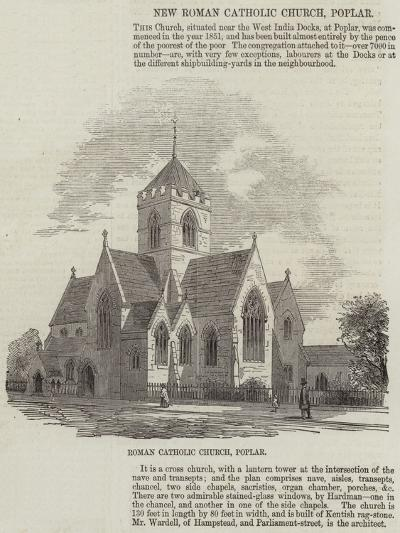 New Roman Catholic Church, Poplar--Giclee Print