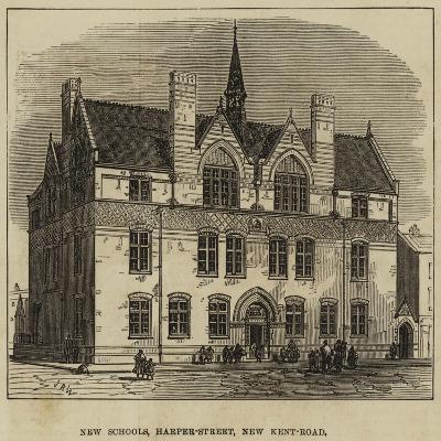 New Schools, Harper-Street, New Kent-Road--Giclee Print
