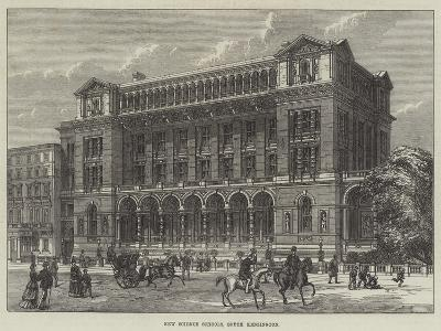 New Science Schools, South Kensington--Giclee Print