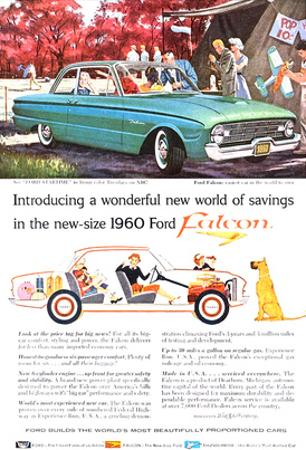 New-Size 1960 Ford Falcon