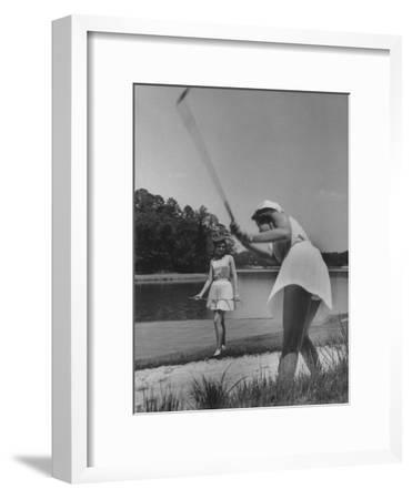 New Skirts--Framed Premium Photographic Print