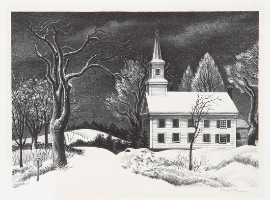 New Snow-Ernest Fiene-Collectable Print
