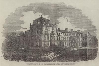 New South Wing of the Oatlands Park Hotel, Weybridge, Surrey--Giclee Print