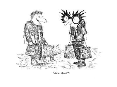 """New specs?"" - New Yorker Cartoon-Edward Koren-Premium Giclee Print"