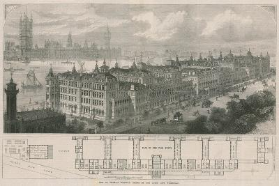New St Thomas's Hospital, Opened by the Queen Last Wednesday-John Sulman-Giclee Print