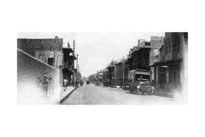 New Street, Baghdad, Mesopotamia, Wwi, 1918--Giclee Print