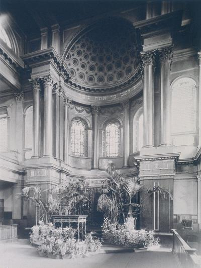 New Synagogue, Great St Helens, London, 1911--Photographic Print