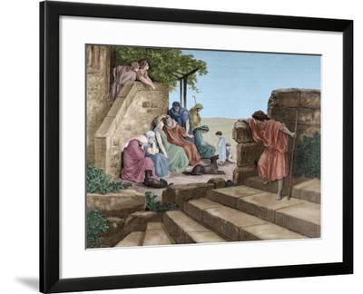 New Testament, Parable of the Prodigal Son--Framed Giclee Print
