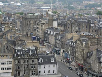 New Town from Edinburgh Castle, Scotland-Cindy Miller Hopkins-Photographic Print