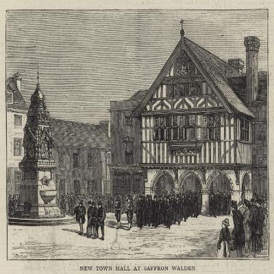 New Town Hall at Saffron Walden--Giclee Print