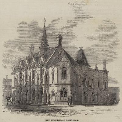 New Townhall at Wokingham--Giclee Print