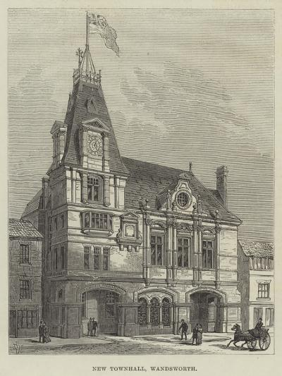 New Townhall, Wandsworth-Frank Watkins-Giclee Print