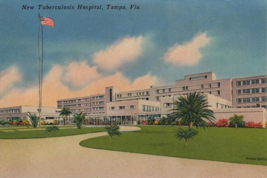 'New Tuberculosis Hospital, Tampa, Fla.', c1940s-Unknown-Giclee Print