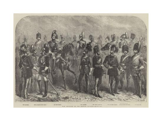 New Uniforms of the British Cavalry--Giclee Print