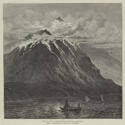 New Volcano on Camiguin Island, Mindanao, Philippines--Giclee Print