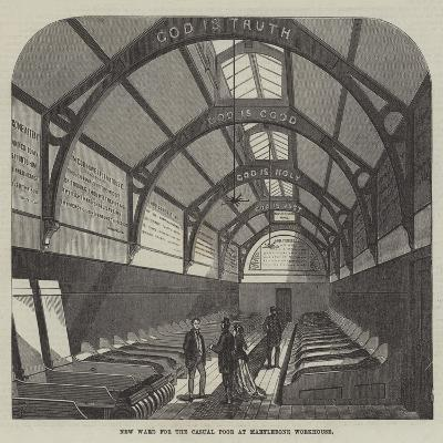 New Ward for the Casual Poor at Marylebone Workhouse-Frank Watkins-Giclee Print