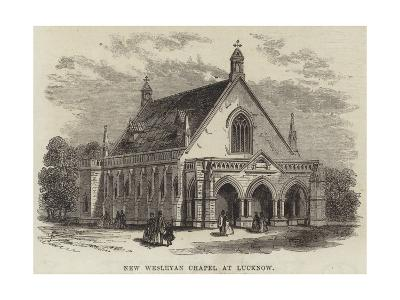 New Wesleyan Chapel at Lucknow--Giclee Print