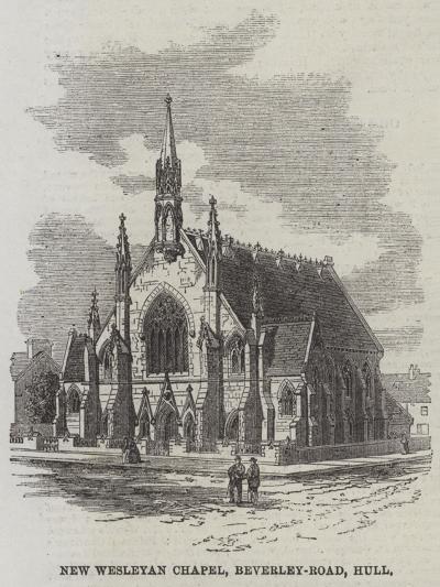 New Wesleyan Chapel, Beverley-Road, Hull--Giclee Print