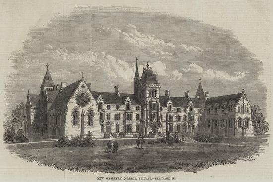 New Wesleyan College, Belfast-Frank Watkins-Giclee Print
