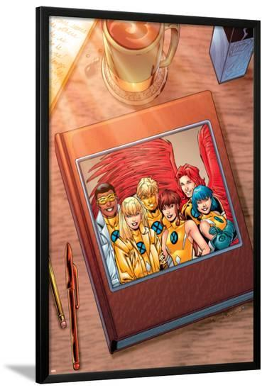 New X-Men: Academy X Yearbook Cover: Prodigy-Aaron Lopresti-Lamina Framed Poster