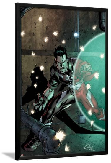 New X-Men: Hellions No.4 Cover: Hellion-Clayton Henry-Lamina Framed Poster