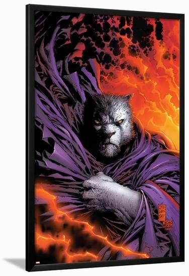 New X-Men No.153 Cover: beast-Marc Silvestri-Lamina Framed Poster