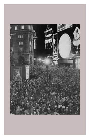 New Year Celebrations 1960--Art Print