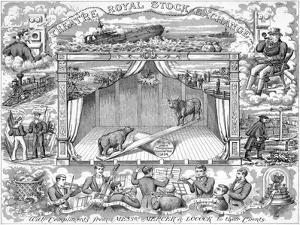 New Year Greetings from Stockbrokers Mercer Locock to their Clients, 1894