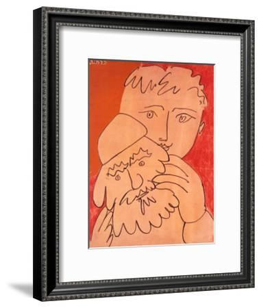 New Year-Pablo Picasso-Framed Art Print