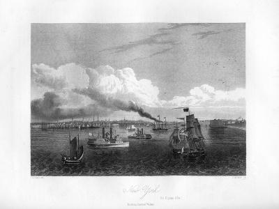 New York, 1855-J Archer-Giclee Print