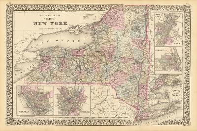 New York 1879-Marcus Jules-Giclee Print