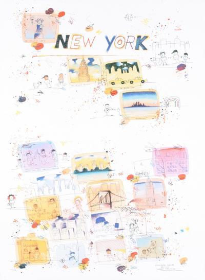 New York, a regular place to live-Wilhelm Scholte-Art Print