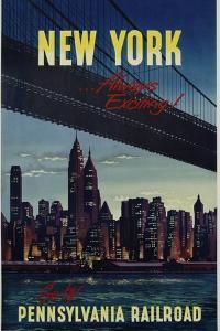 New York . . . Always Exciting! Go
