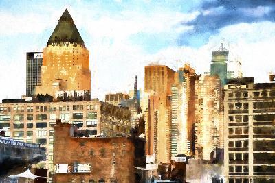 New York Architecture II-Philippe Hugonnard-Giclee Print