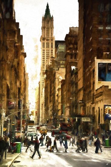 New York at dawn-Philippe Hugonnard-Giclee Print