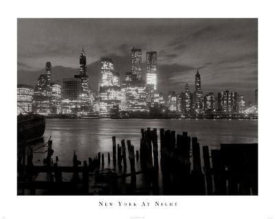New York at Night--Art Print