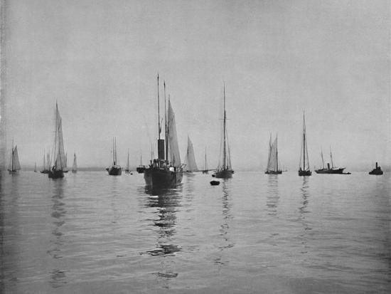 'New York Bay', 19th century-Unknown-Photographic Print